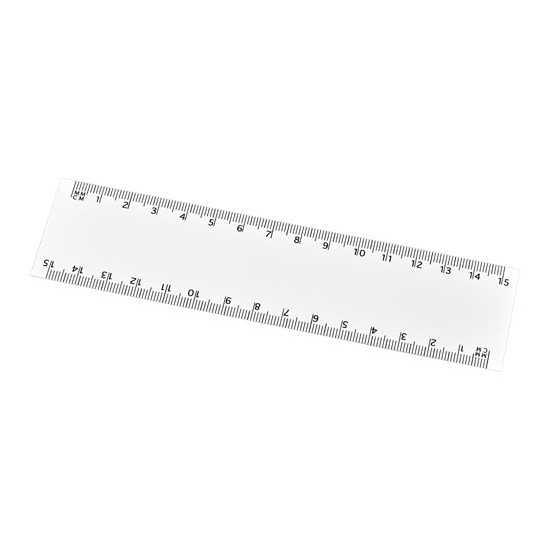 Règle flexible 15 cm Arc Règles publicitaires