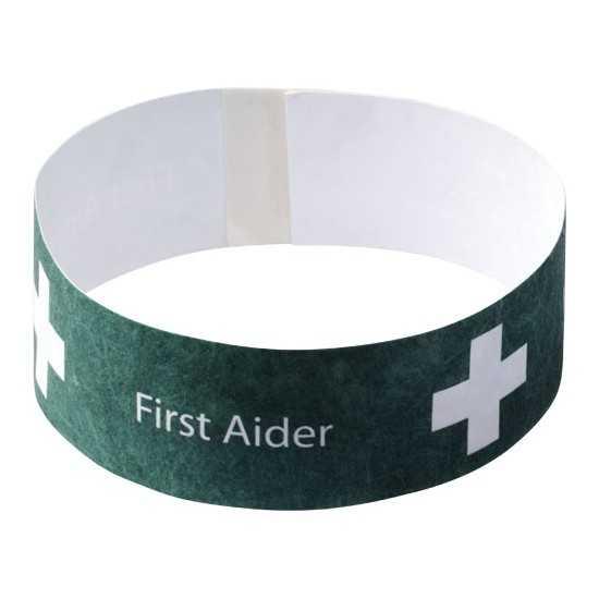 Bracelet papier pour événement Bracelet publicitaire