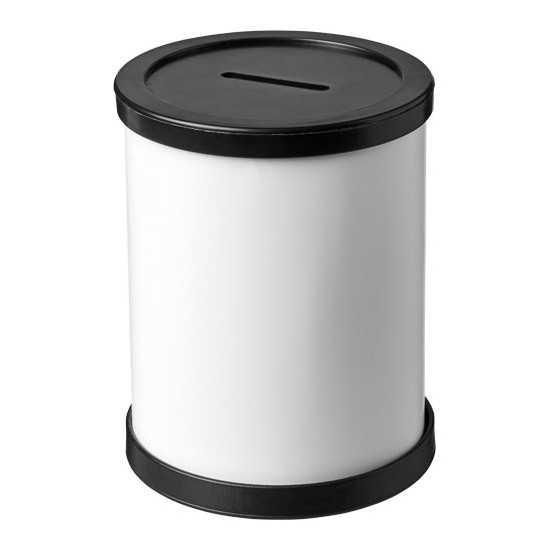 Tirelire plastique ronde Rafi Tirelire personnalisée