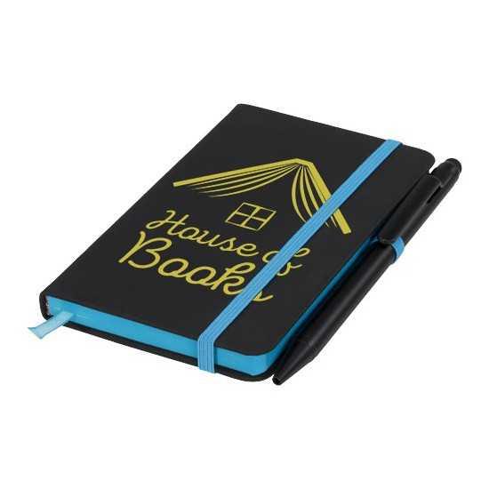 Carnet de notes S Noir Edge Bloc-notes avec stylo