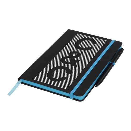 Carnet de notes M Noir Edge Bloc-notes avec stylo