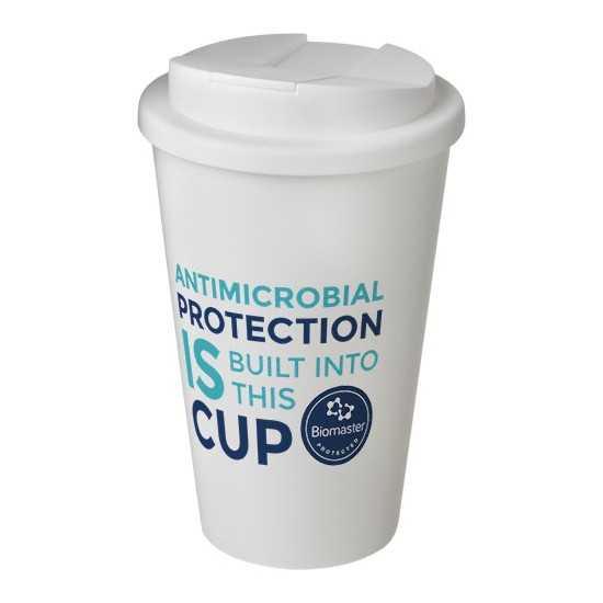 Mug antimicrobien avec couvercle Mug de voyage personnalisé