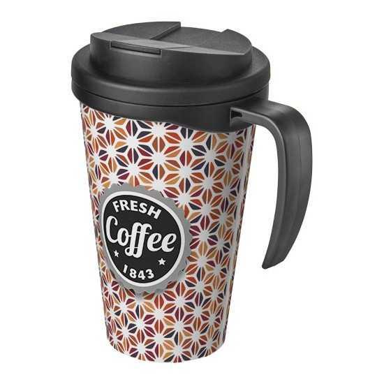 Mug isolant grand 350ml avec couvercle anti fuite Mug de voyage personnalisé