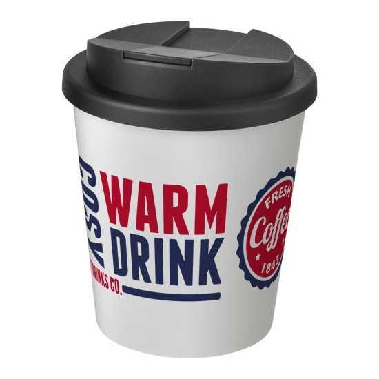Gobelet isolant à espresso couvercle anti fuite 250ml Mug avec Couvercle personnalisé