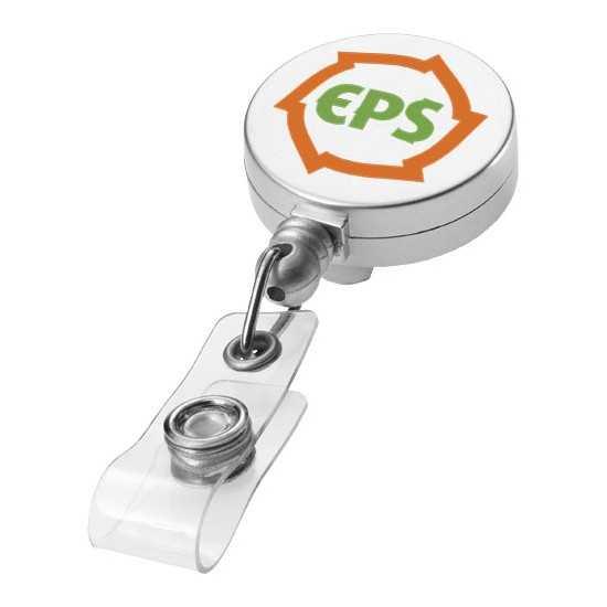 Porte badge avec enrouleur extensible Aspen Porte badge enrouleur personnalisé602