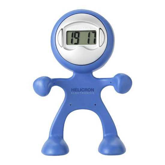 Horloge Bureau Change Forme Flexible Horloge publicitaire