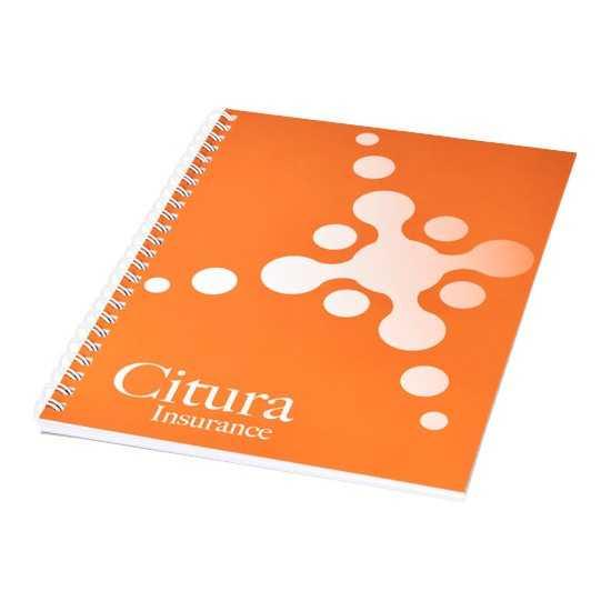 Cahier A4 couverture anti-déchirures et imperméable Carnets spirale