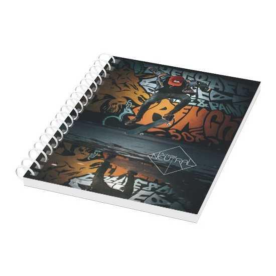 Cahier A6 couverture anti-déchirures et imperméable Carnets spirale