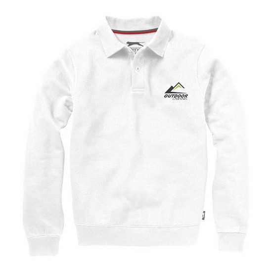 Sweat col polo Referee Sweat-shirt publicitaire