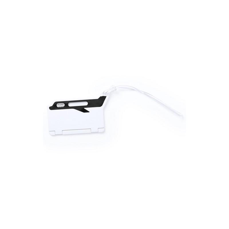 Identificateur valise publicitaire mufix Etiquette bagage publicitaire