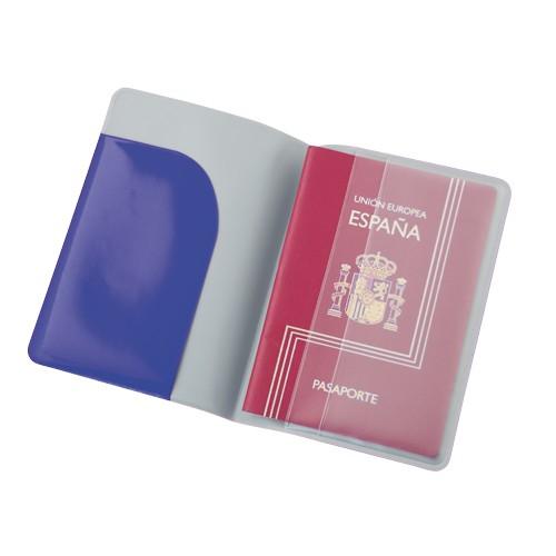 Étui passeport publicitaire klimba Porte-documents de voyage