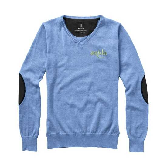 Pullover Col V Femme Spruce Sweat-shirt publicitaire