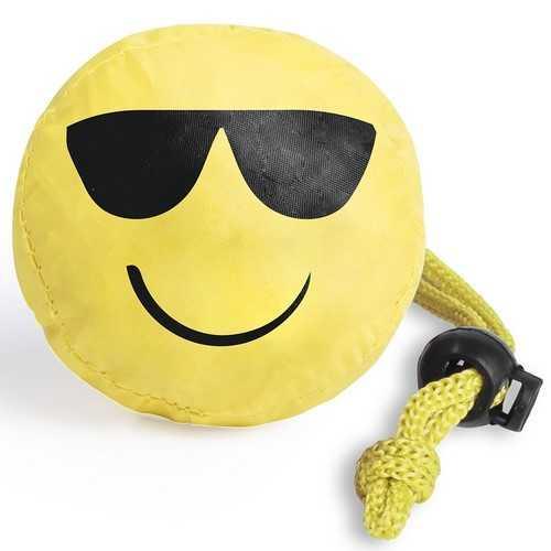 Sac smiley pliable sukrem Sac shopping