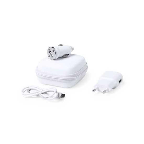 Set Chargeurs USB voiture Luzzer Chargeur USB Allume Cigare personnalisé