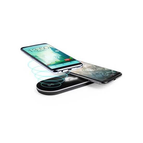 Chargeur sans fil pour 2 appareils Chargeur Sans Fil personnalisé
