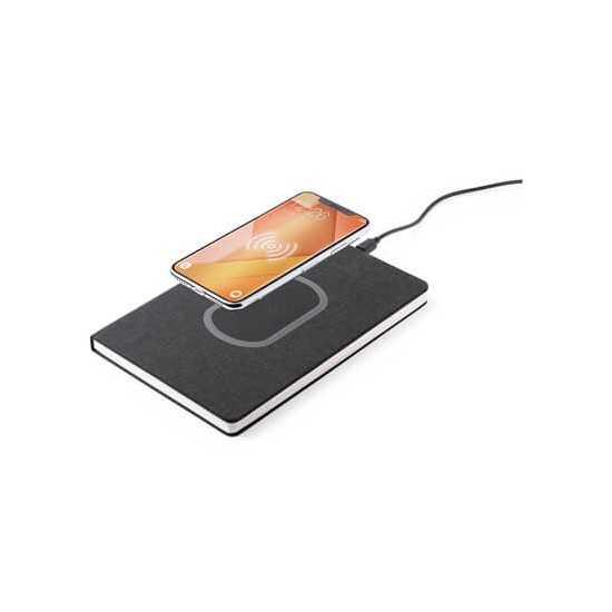 Chargeur sans fil carnet de notes batterie externe Chargeur Sans Fil personnalisé