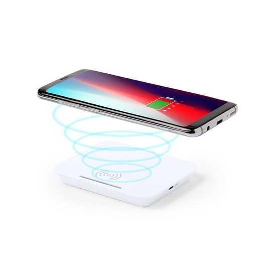 Chargeur sans fil avec support smartphone Chargeur Sans Fil personnalisé