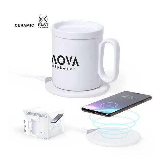 Chauffe-tasse avec chargeur sans fil Chargeur Sans Fil personnalisé