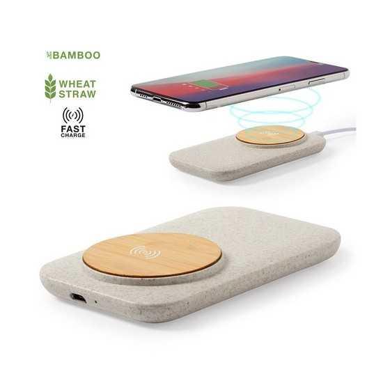 Chargeur induction sans fil écologique claudix Chargeur Sans Fil personnalisé