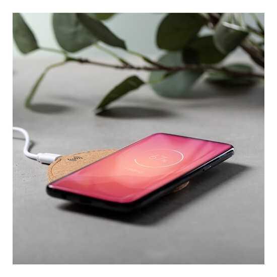 Chargeur sans fil en liège Kibox Chargeur Sans Fil personnalisé
