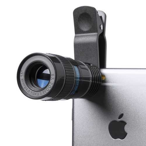 Objectif universel publicitaire yorap 8x Zoom pour smartphone
