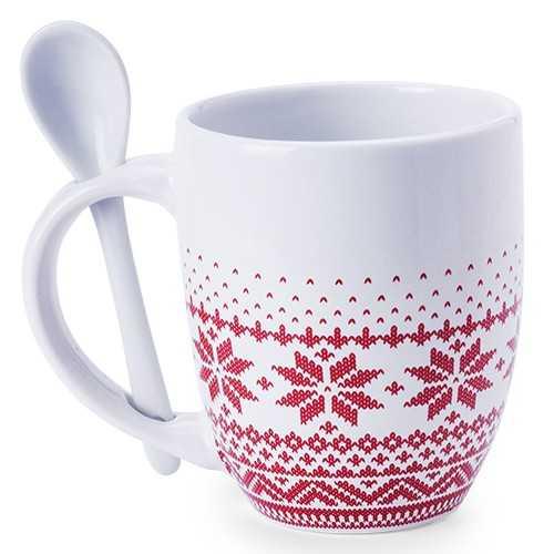 Mug à cuillère Noël publicitaire sorbux