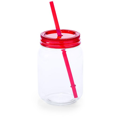 Pot avec paille sirex Gobelet plastique