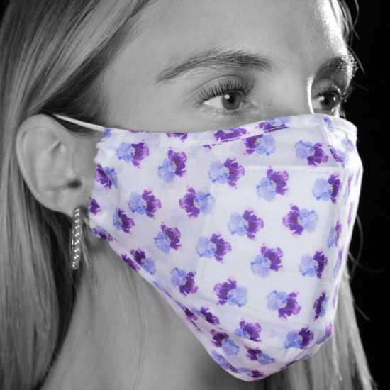 Masque Hortense Bright Blue Cacharel CADEAUX ENTREPRISE LUXE