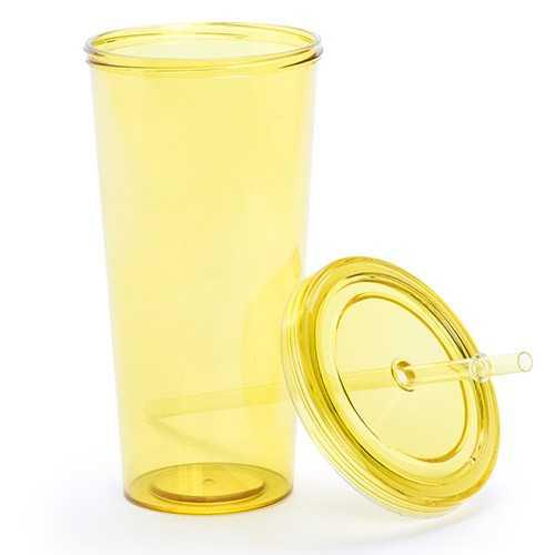 Gobelet plastique paille trinox Gobelet plastique