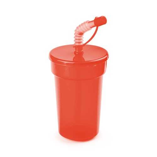Verre plastique paille fraguen Gobelet plastique