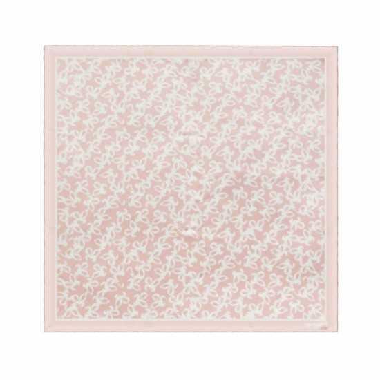 Foulard soie Hirondelle Light Pink Cacharel Foulard personnalisé