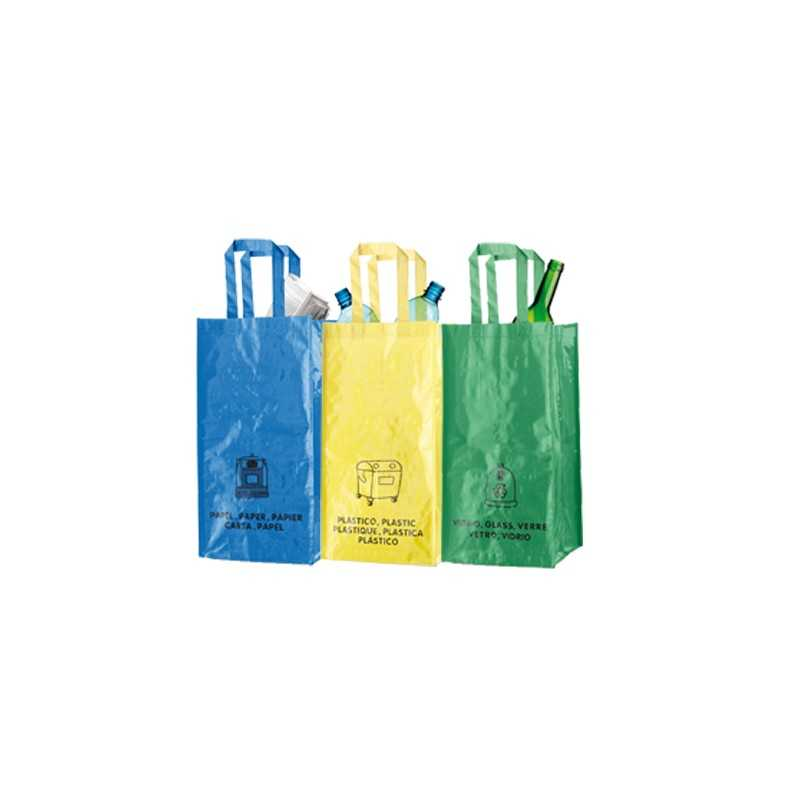 Sac recyclage publicitaire lopack ECOLOGIE