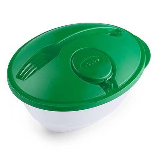 Boîte salade publicitaire kaprex Gamelle publicitaire