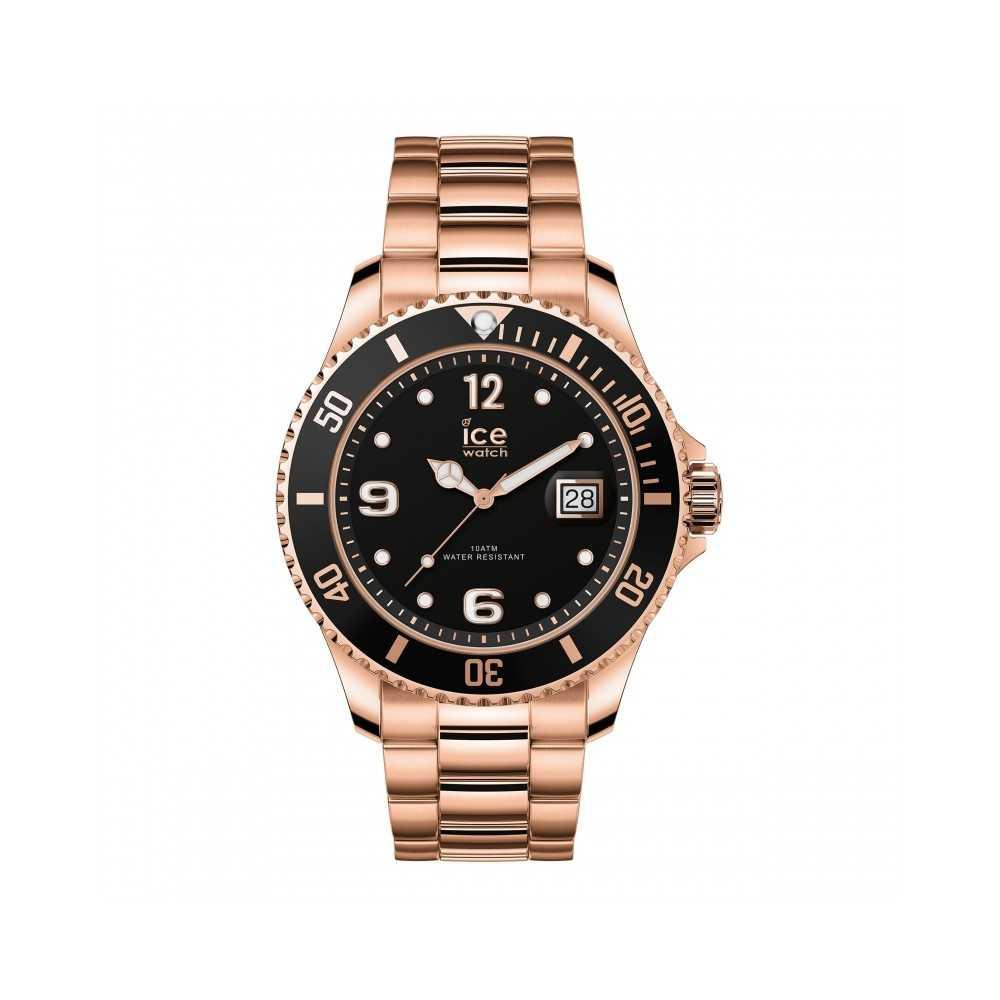 ICE steel-Rose gold-Grande-3H Ice-Watch ICE-WATCH