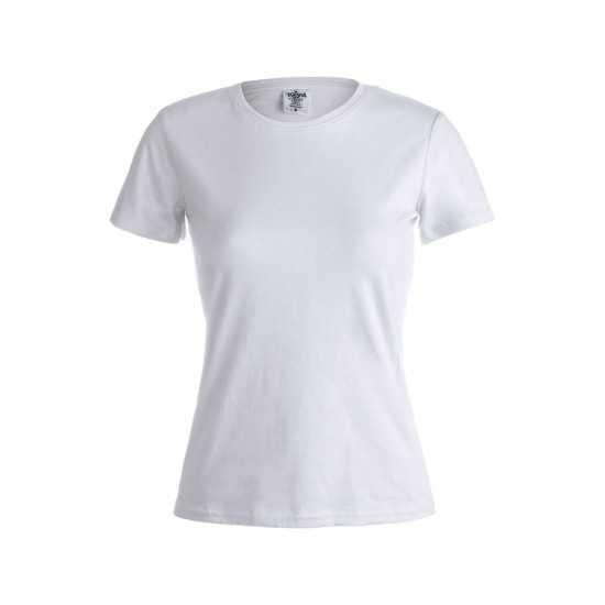 T-Shirt Femme Blanc keya WCS180 T-shirt femme personnalisé