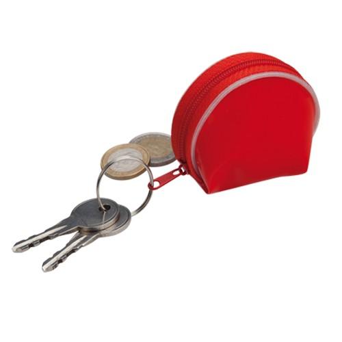 Porte-clés porte monnaie publicitaire dyna Porte-clés porte monnaie