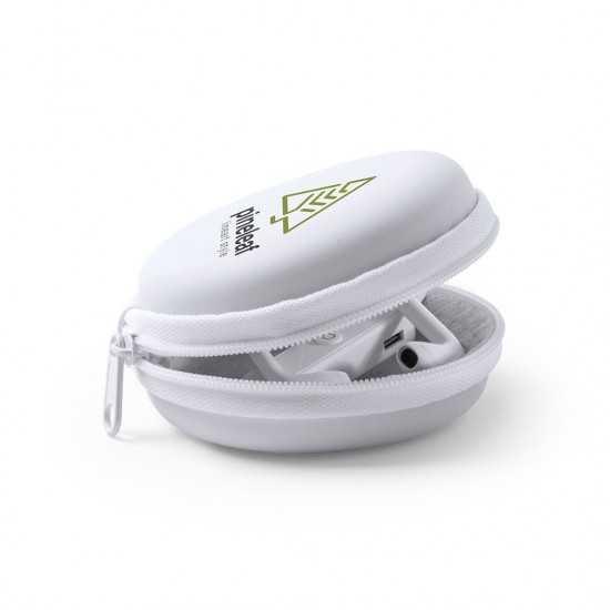 Écouteurs dans étui Sopral écouteurs personnalisés