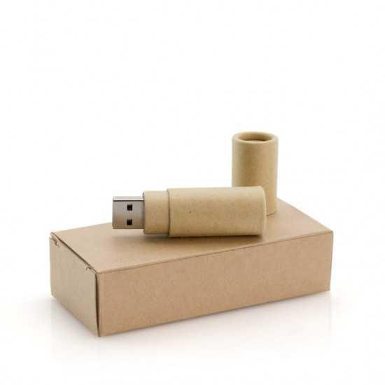 Clé USB Carton Recyclé Eku 16GB Clé usb bois personnalisé
