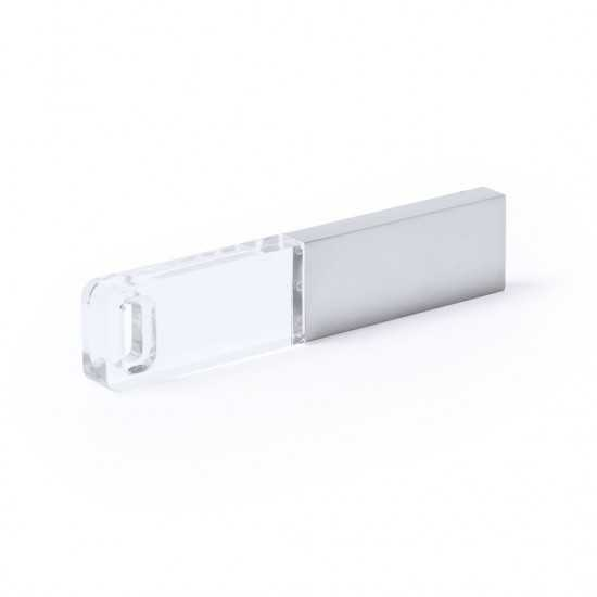 Clé USB Cristal et Aluminium Yeren 16Gb Clé usb Lumineuse