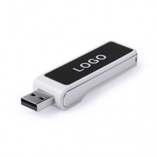 Clé USB Logo Lumineux LED Daclon 16Gb Clé usb Lumineuse