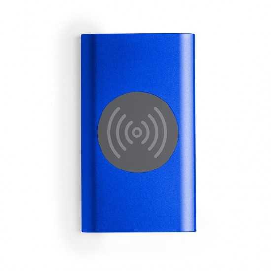 Batterie auxiliaire externe Aluminium sans fil Tikur Chargeur Sans Fil personnalisé