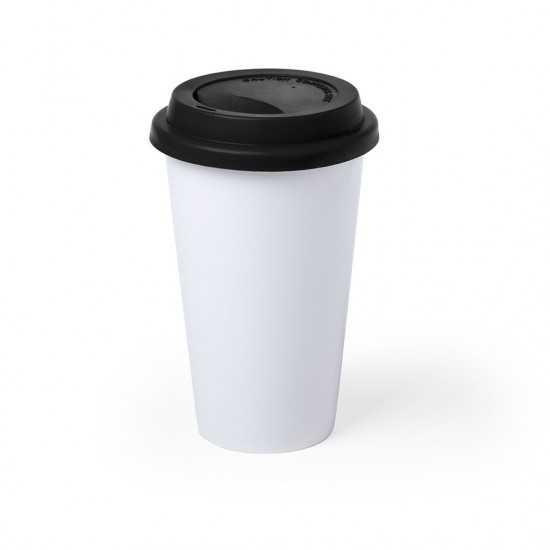 Mug céramique couvercle silicone Keylor Mug avec Couvercle personnalisé
