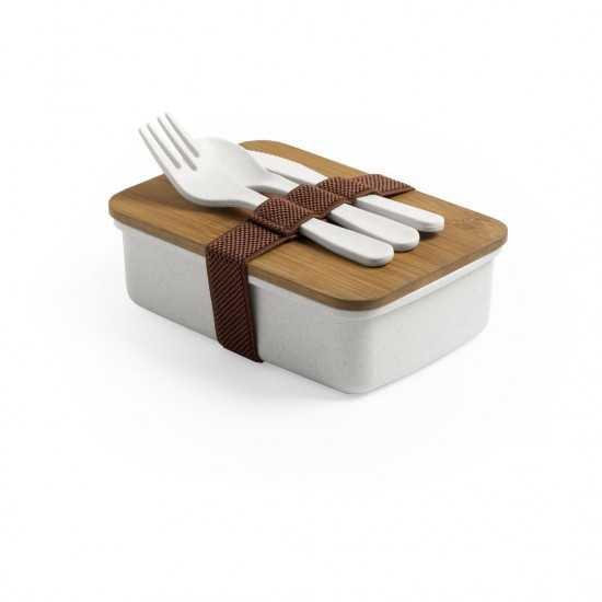 Lunch box bambou personnalisable Bilsoc Gamelle publicitaire
