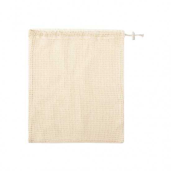 Sac coton brut fermeture cordon Tolmen Sac écologique personnalisable