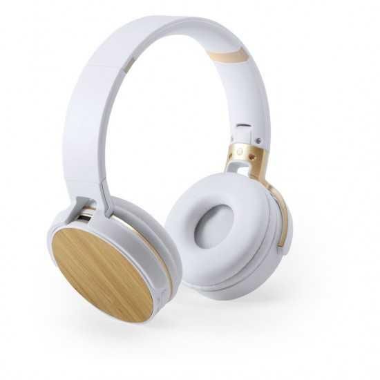 Écouteurs Partie Bambou Treiko Casque audio personnalisable