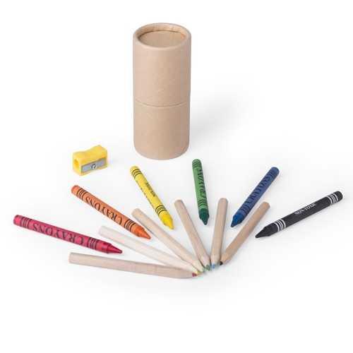 Set publicitaire pixi Crayons publicitaires