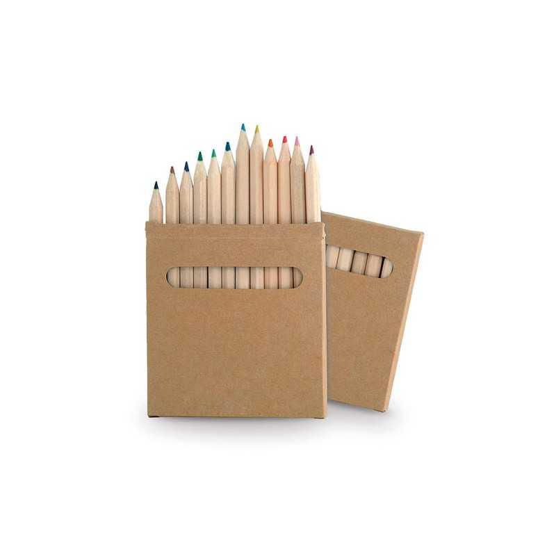Boîte crayons publicitaire boys Crayons publicitaires
