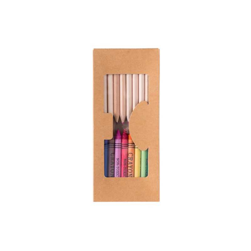 Set publicitaire aladín Crayons publicitaires