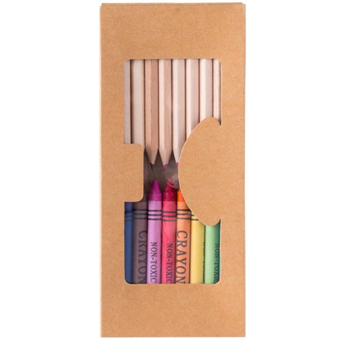 Crayons publicitaires Set publicitaire aladín