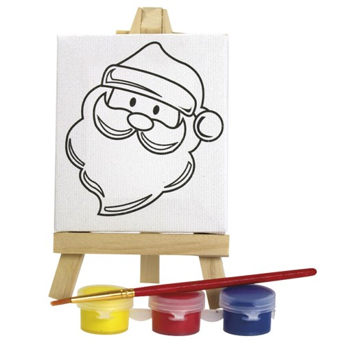 Fournitures enfant Set peinture publicitaire picass